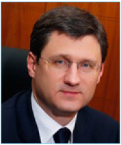 Alexander Novak Energy Minister of the Russian Federation