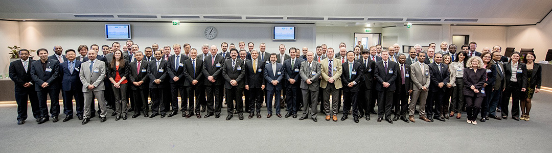 group photo at the 5th IEA-IEF-OPEC workshop on interactions between physical and financial energy markets