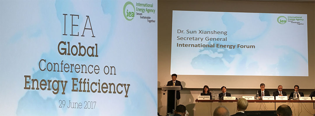 IEA's 2nd Global Conference on Energy Efficiency | IEF