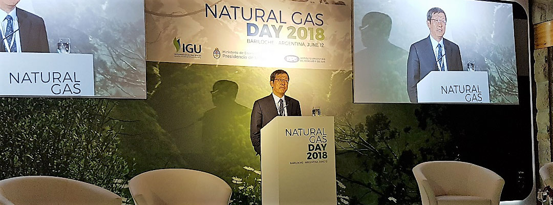 natural gas day 2018