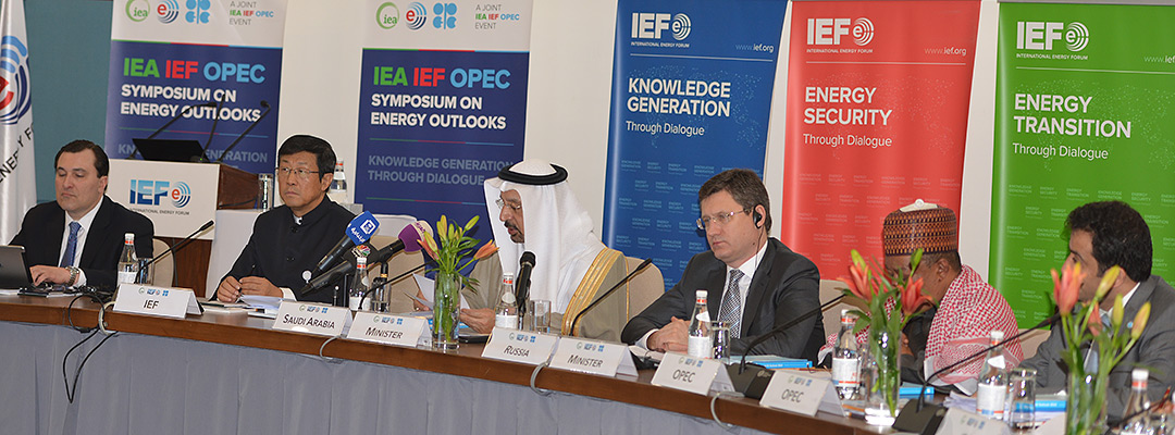 8th IEA IEF OPEC Header