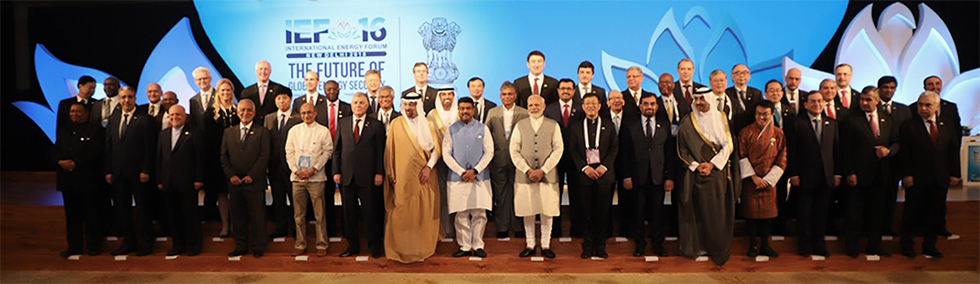: Heads of Delegation at the IEF16